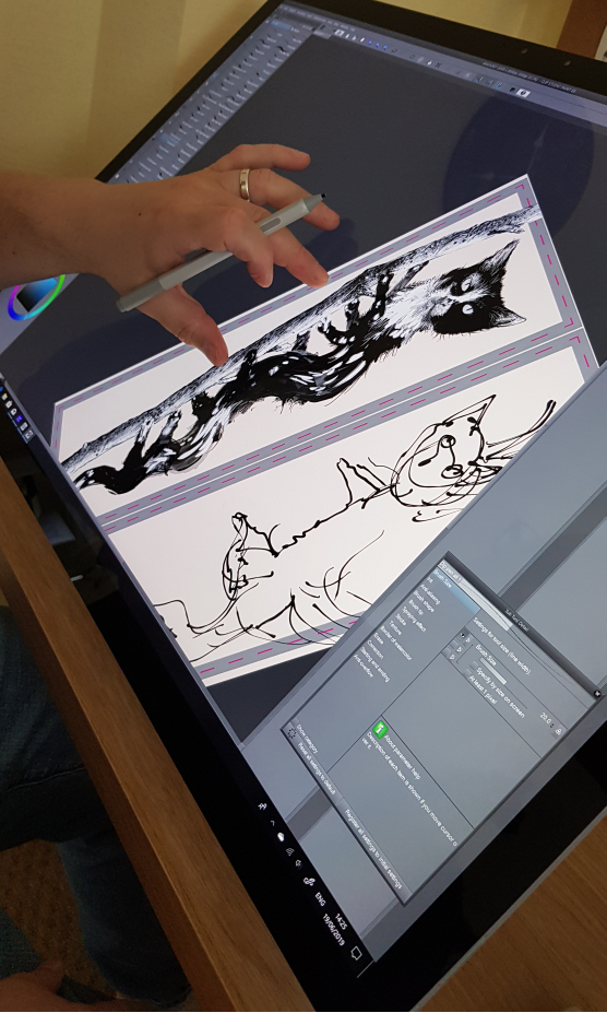 Rotating the Workspace on the Surface Studio 2