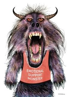 Emotional Support Monster