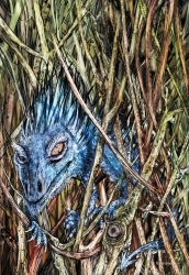 Hedge Dragon bookmark