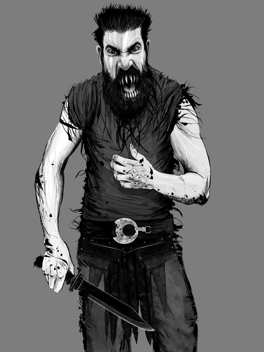 berserker from Hexa Eldritch book 1
